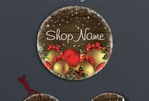 Christmas Designs / Christmas shop banners and other designs.