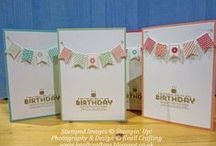 SAB 2014 / Ideas using Stampin' Up!'s FREE products available during Sale-a-Bration 2014