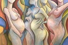Pregnancy - Art