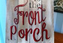 Porch Havens - Not Just Your Grandma's Porch / Gotta love an inviting front porch...