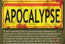 Zombie Apocolypse / by Rose Long