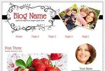 Creative Blog Designs / Blogger Templates and WordPress Themes with style!