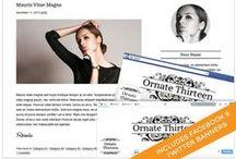 Blog Designs and Social Media Branding Sets