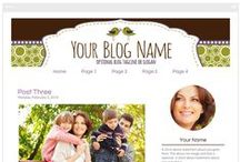 Blog Designs For Mommy Bloggers / Are you looking to start a Mommy blog or give your existing one a makeover? Here is a collection of creative and fun blog designs. Browse through and find one that matches your personality!   You can find designs for Blogger and self-hosted WordPress blogs. All designs are available on Rhonda Jai Designs: http://rhondajaidesigns.com/collections/blog-designs