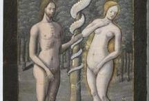 Adam & Eve  - Art