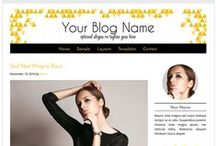 Beauty Blog Design Templates / Beauty blog templates that will give your blog a professional look and add credibility.