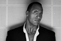 """The Rock"" Dwayne Johnson / Actor, Producer & Professional Wrestler  / by Jessica Martigani"