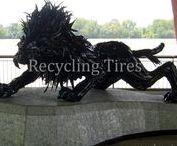 Pneumatiky / Recycling tyre - recyklovanie starých pneumatík