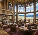 Triple B Ranch / A rustic, western house full of reclaimed timber near Red Lodge, Montana