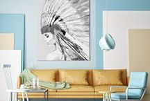 SKETCH COLLECTION / Wallpaper / Mural / Canvas / Poster