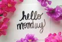 Mondaying