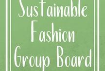 Sustainable Fashion | Group Board / Collaborative board for sustainable fashion bloggers, and industry leaders.  We're coming together to bring the best curated content on sustainable fashion