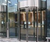 Curved Sliding Doors / Our Automatic Curved Sliding Door is designed for building applications that would like the aesthetic rounded look of a revolving door but have the requirement to provide disabled access within a limited space of the entry area.
