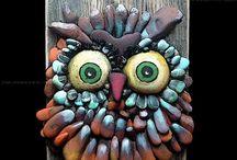Quilling- taş sanatı örnekler