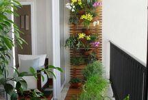 Bahçe-balkon