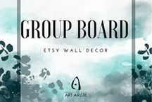 Home Decor Group Board / Contribute to Wall Decor Group Board! To join message me on Pinterest. Post up to 3 posts per day. Repin as much as you pin. Happy pinning!
