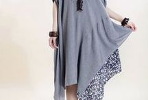 Boho & Cross-clothing / Перешитая одежда и модели в стиле Бохо