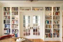Books. I love books. Books & Bookcases / I love books and places to show them off. Books & Bookcases. Books. Art Interior Design and Home.