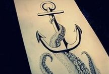 ⚓ Anchors Aweigh ⚓ / ⚓ Tattoos and all things anchor and sailors ⚓   / by rus$ℓ мФятn
