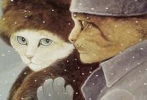Kitty Art / by Kathy Wegel