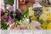 Wedding Trends 2013 / by Floral Design Institute