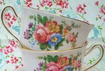 cups, saucers, plates, etcetera