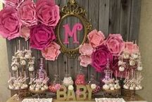 BABY SHOWER FUN / Celebrating your baby shower in style!