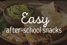 Easy After School Snacks / Let's be real: kids and teenagers typically come home hungry after school. These quick and easy snacks and recipes will keep them satisfied! / by Schwan's Home Service
