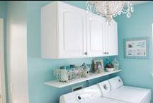 Home: Laundry Room/ Closet / by Kimberly Bonnett