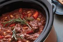 Slow-Cooker Recipes / Slow-cooker recipes for easy, comforting meals.