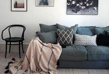 Home: Decor // Interior Spaces / Home Decor / Patterns / Textures / Design