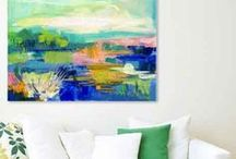 Abstract Coastal Paintings by Pamela Wingard / Abstract Coastal Paintings. Original wall art abstract paintings by Pamela Wingard. Beach house ready in a coastal design style. Interior designers welcome. Artwork is painted on gallery depth canvas or framed and ready to hang.  Beach House Inspiration. Coastal design. Interior Design. Real. Relaxed. Style. Abstract Coastal Paintings. Interior design. Boho decor. California style. California coastal. Beach house coastal design style. Coastal wall art. Coastal art. Abstract art. Abstract paintings. Interior decor.  Www.pamwingard.com