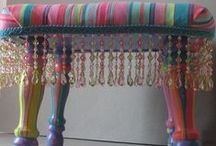 Trims and Fringe in Home Decor / Trims and fringe home décor inspiration in furniture and accessories. / by Expo International Inc.
