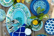 Dishes. I Love Dishes. Tabletop too. / Tabletop. I love dishes. Art Interior Design and Home. Art. Design. Interiors.
