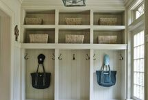 Interior Design. Laundry & Mud Rooms.