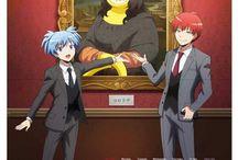Assassination Classroom LOL / Nagisa X Karma = Gay ?
