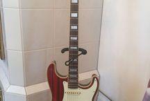 Fender ST68-HO zebrawood