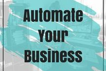 Automate Your Business / Streamline and automate your solopreneur business by creating project management system and processes.