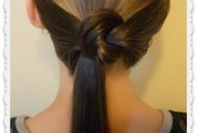 PONY TAILS / HAIR STYLES