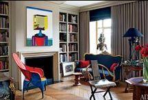 Decoração de Interiores / Aqui você poderá encontrar inspirações e composições para a decoração de ambientes variados.