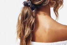 SUMMER hair / Be the queen of summer with your absolutely perfect summer hair! Tips for haircolors, hairstyles and hairdos.