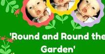 Garden Themed Activities for Babies & Toddlers