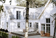 Houses / Scandinavian houses, house inspiration, black houses, white houses, Nordic inspirational homes.