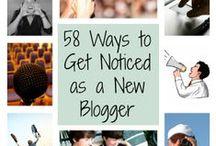 Blogging Tips / building a better blog.