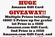 Giveaways / Blogger Giveaways