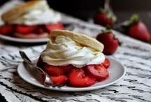 Strawberry Shortcakes / Strawberry Shortcake recipes