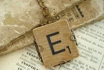 The letter E / by Kerstin Entwistle
