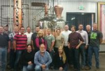 September 15-19, 2014 Workshop / Folks from around the country learning how to start their own distilleries.