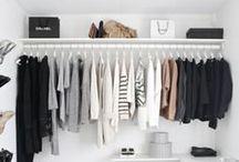 Walk-in closet + wardrobe / Walk in closets / by Cici