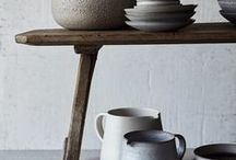 Ceramics / Creamics that I love. Home decoration ideas for natural and organic home.